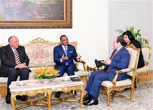 بسام راضي: رسالة من رئيس الكونغو إلى الرئيس السيسي بشأن تطورات القضية الليبية