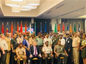نميرة نجم تشارك في ندوة «حلول العمليات العسكرية والتحديات في إفريقيا» | صور