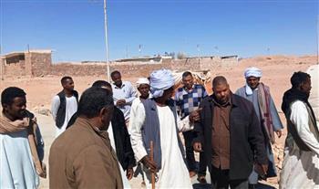 محافظ أسوان يوفد لجنة للوقوف على المطالب الجماهيرية لأهالي قرية العلاقى