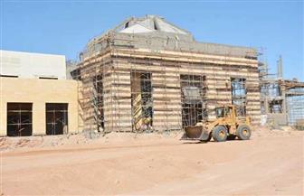محافظ سيناء يتفقد أعمال إنشاء جامعة سلمان بطور سيناء | صور