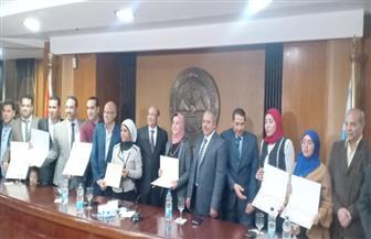 علاء ثابت خلال توزيع جائزة نوال عمر: مصر الجديدة تحتاج جهود المخلصين والمتميزين