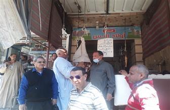 حملة لتثبيت أسعار اللحوم 100 للكيلو بعد شكاوي برفعها بكوم أمبو في أسوان | صور