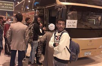 وزير النقل يتابع نقل ركاب قطارات أسوان والأقصر للقاهرة بأتوبيسات السوبرجيت | صور