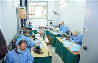 رئيس جامعة طنطا: التوسع في خطوط إنتاج الكمامات الطبية المعقمة | صور
