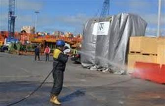 إجراءات جديدة بميناء الإسكندرية للحد من انتشار فيروس كورونا