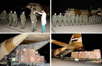 القوات المسلحة توفر أجهزة ومستلزمات طبية.. ووصول أول شحنة بقاعدة شرق القاهرة الجوية | فيديو
