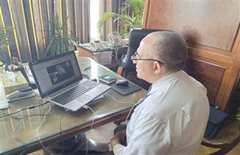 """عبد العاطي يتابع مع قيادات """"الري"""" الاستعداد لـ""""أقصى الاحتياجات"""" عبر الفيديو كونفرانس"""