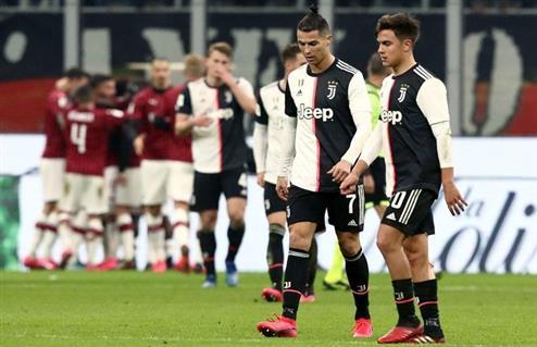 تأجيل مباراة يوفنتوس وميلان في كأس إيطاليا -