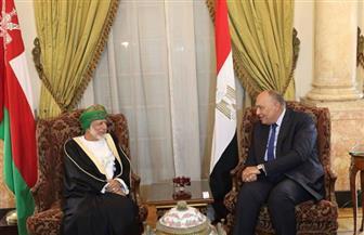 وزيرالخارجية يستعرض مع نظيره العمانى دعم العمل العربي المُشترك | صور