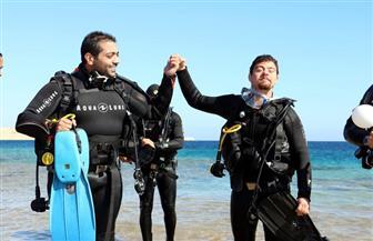 البيئة تحقق حلم بطل من ذوي الهمم بالغوص بمحمية رأس محمد للترويج للسياحة البيئية