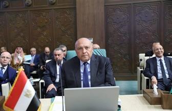 وزير الخارجية يشارك فى اجتماع مجلس الجامعة العربية   صور