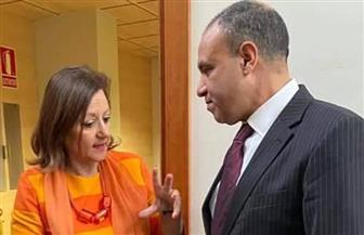 مساعد وزير الخارجية للشئون الأوروبية يلتقي وزيرة الدولة الإسبانية للشئون الخارجية في مدريد