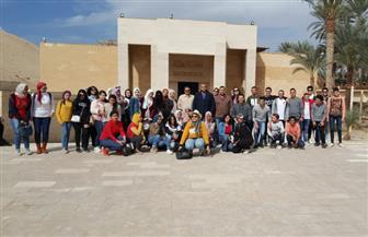 مركز زاهي حواس للمصريات بمكتبة الإسكندرية ينظم يوما ثقافيا لطلاب الجامعات بالأهرامات | صور