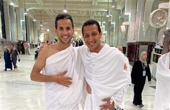 الغندور وجمال يؤديان العمرة بعد انتهاء بطولة  كأس العرب |  صور