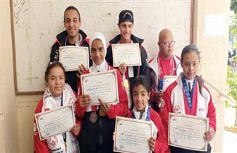 تكريم أبطال الأوليمبياد الخاص في المعهد العالي للإعلام بالإسكندرية