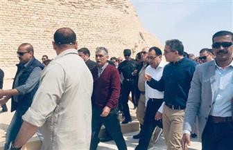 رئيس الوزراء يفتتح هرم زوسر بمنطقة سقارة بعد الانتهاء من ترميمه| صور