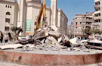 محافظ الدقهلية: البدء في أعمال تطوير ميدان الشيخ حسانين بالمنصورة  صور