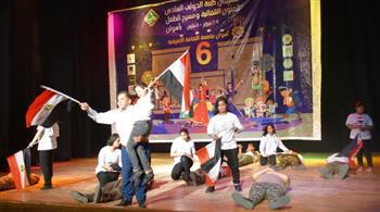 ختام مهرجان طيبة الدولي السادس بأسوان
