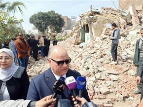 محافظ القاهرة: كوم غراب غير آمنة.. ونقل 245 أسرة إلى الأسمرات