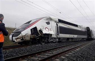 خروج قطار فائق السرعة عن مساره بشرق فرنسا