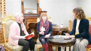 """مديرة المجلس الثقافي البريطاني تتحدث إلى """"علاء الدين"""".. إليزابيث وايت: في طفولتي كنت أنتظر مجلة """"انظر وتعلم"""""""