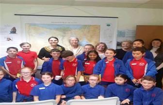 السفارة المصرية في كانبرا تستقبل مجموعة من الطلاب الأستراليين | صور