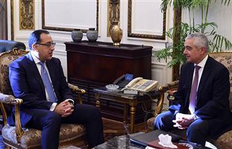 رئيس الوزراء يلتقي مرشح مصر لمنصب مدير عام منظمة التجارة العالمية
