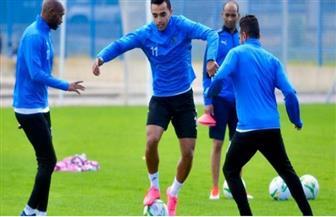 فقرة ترفيهية للاعبي الزمالك قبل مواجهة الترجي التونسي غدا