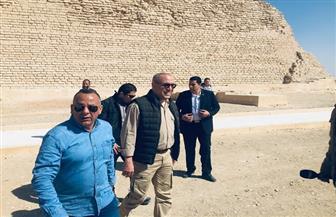وزير الإسكان: نعمل على تهيئة البنية الأساسية للوصول إلى منطقة سقارة الأثرية