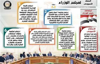 الحصاد الأسبوعي لمجلس الوزراء خلال الفترة من 28 فبراير حتى 5 مارس 2020 | إنفوجراف