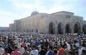 """20 ألفا يؤدون صلاة الجمعة في المسجد """"الأقصى"""""""