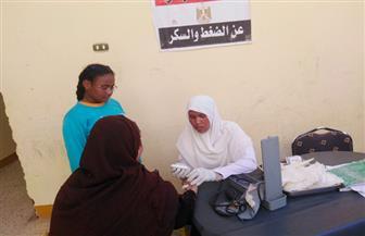 توقيع الكشف الطبي على 1419 مواطنًا بقرية المالكي التابعة لمركز نصر النوبة بأسوان