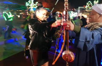 رانيا يوسف ترقص على أنغام المزمار البلدى فى افتتاح مهرجان الأقصر | صور