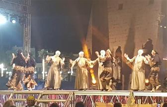 فرقة رضا تعيد ذكريات الزمن الجميل بأغنيتها «الأقصر بلدنا» بمهرجان الأقصر للسينما الإفريقية | صور