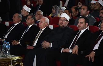 وزير الأوقاف ومحافظ بورسعيد يشهدان افتتاح المسابقة الدولية للقرآن الكريم | صور