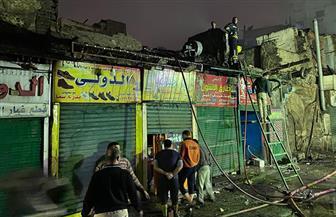 محافظ القاهرة يشكل لجنة هندسية لمعاينة عقار في الدرب الأحمر   صور