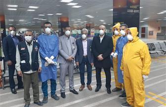 تفاصيل تفقد وزير الطيران مطار الأقصر الدولى لمتابعة تطبيق خطة مواجهة كورونا | فيديو وصور