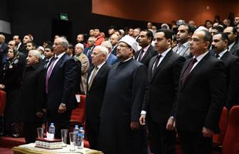 وزير الأوقاف ومحافظ بورسعيد يستهلان المسابقة الدولية للقرآن الكريم بدقيقة حداد على «العجمي» و«هاني»