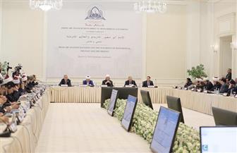 نظير عياد: كلمة شيخ الأزهر بمؤتمر سمرقند كشفت عن القول الفصل في كثير من المسائل | صور
