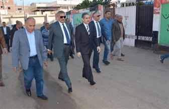 محافظ الغربية يتفقد المنشآت الخدمية والمرافق بقرية أبوصير |صور