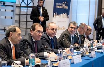 وزير البترول يشارك في فعاليات المائدة المستديرة بشأن منتدى غاز شرق المتوسط