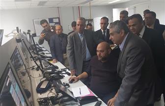 نائب وزير الطيران المدني يتفقد مطار أسوان الدولى