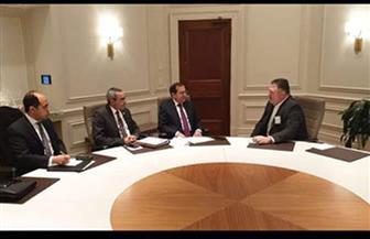 الملا يلتقي مسئولي شركات أمريكية لبحث خططها لزيادة الاستثمارات بمصر صور