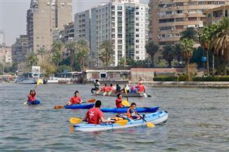 مايا مرسي: مشاركة شباب مصر في تنظيف النيل رسالة للعالم بأن النهر شريان حياتنا |صور