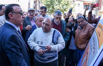 محافظ الإسكندرية يطلق إشارة البدء في تطوير منطقة نادي الصيد| صور