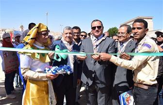 افتتاح فعاليات المهرجان الكشفي الخامس لجوالي وجوالات جامعة سوهاج| صور