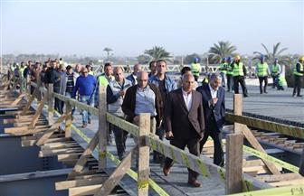 وزير النقل يتابع أعمال تنفيذ محور سمالوط على النيل بمحافظة المنيا بتكلفة إجمالية 1.5مليار جنيه