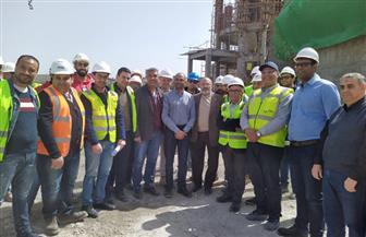 نائب وزير الإسكان يتفقد مشروعات صرف صحي الإسكندرية | صور