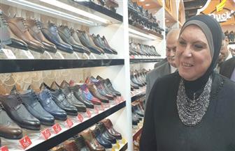 وزيرة التجارة والصناعة تفتتح معرض القاهرة الدولى للجلود
