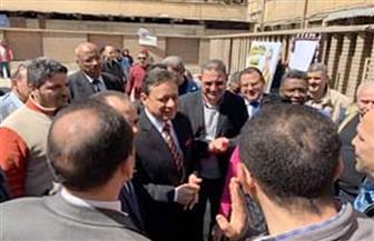 رئيس الوطنية للصحافة يتفقد انتخابات دار الهلال | صور